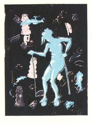 约尔格·伊门多夫 - 版画 - Dialog - Gertrude
