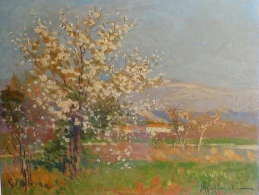 Attilio GUFFANTI - Gemälde - L'arbre en fleurs