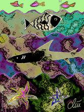 Jacqueline DITT - Estampe-Multiple - Wellengang (Dashing of Waves) - Grafik / graphic ltd. Editio