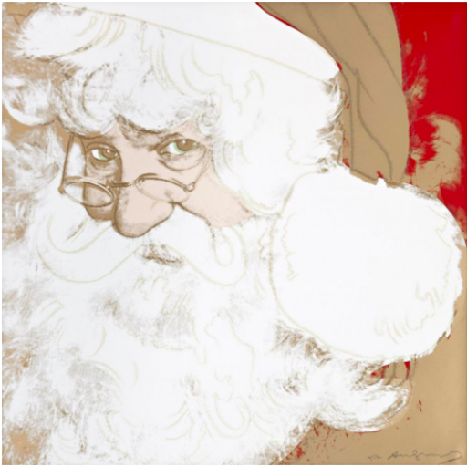 Andy WARHOL - Stampa-Multiplo - Santa Claus. From The Myth Portfolio