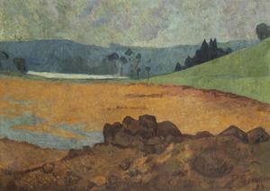 Paul SÉRUSIER - Painting - Bord de mer en Bretagne