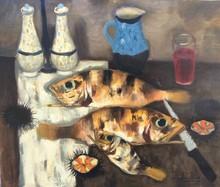 Eugène BABOULENE - Painting - Belles pièces