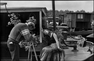 Henri CARTIER-BRESSON - Fotografie - Quai des Tuileries Paris