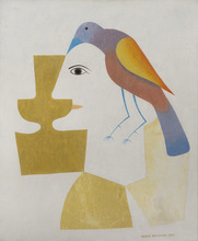 Victor BRAUNER - Pintura - Coupe du double