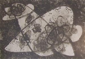 Hermann GLÖCKNER - Pittura - o. T. (Fo 106/3)