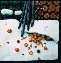 Piero GILARDI (1942) - Nevicata alla baita