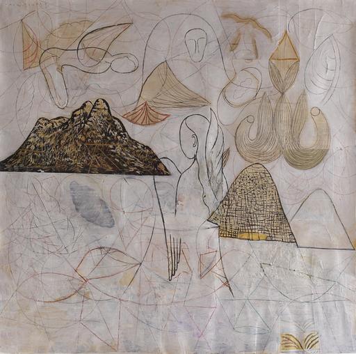Amar DAWOD - Pintura - The Ta-Sin of the Declaration of Unity I