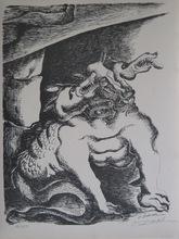 Ossip ZADKINE - Print-Multiple - LITHOGRAPHIE SIGNÉE CRAYON NUM/350 HANDSIGNED LITHOGRAPH