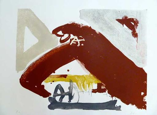 Antoni TAPIES - Print-Multiple - 618. Sin Título