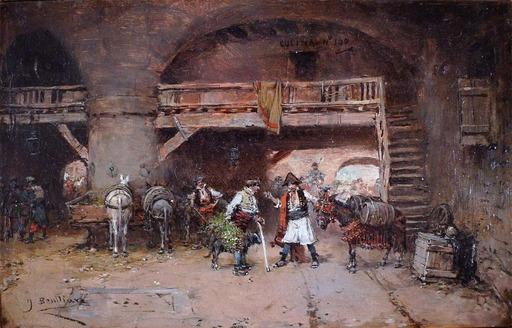 José BENLLIURE Y GIL - Gemälde - Time For Discussion