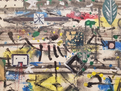 Phillip MARTIN - Gemälde - Senza Titolo ( Yes land, Monterosso)