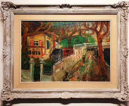 Carlos NADAL - Painting - Rue de París
