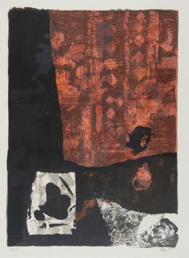 Antoni CLAVÉ - Print-Multiple - Rouge et Noir