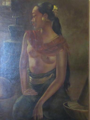 Albert BESNARD - Painting - Balinaise