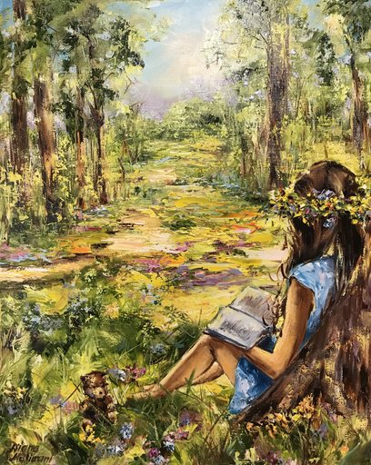 Diana MALIVANI - Gemälde - Under the Tree