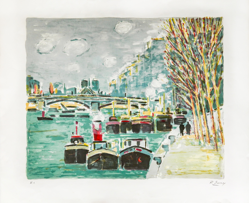 Robert SAVARY - Print-Multiple - Quais de Seine