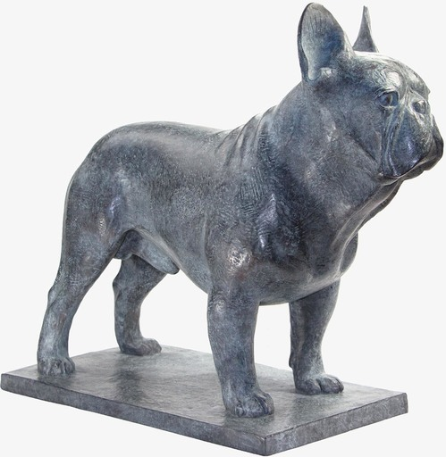 Armand PETERSEN - Escultura - Bouledogue Français