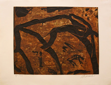 Emil SCHUMACHER - Print-Multiple - 20/1990
