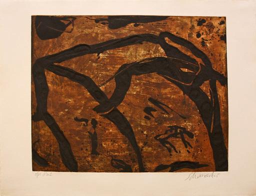 Emil SCHUMACHER - Estampe-Multiple - 20/1990
