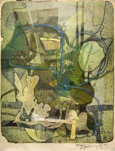 Harold Barling TOWN - Stampa-Multiplo - Sea Gardens