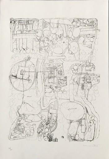 Hermann NITSCH - Print-Multiple - Untitled