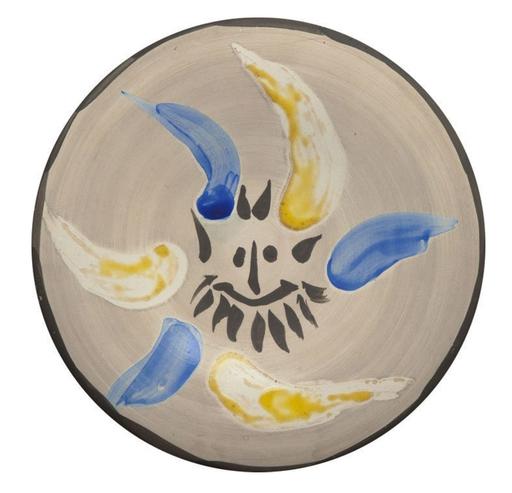 巴勃罗•毕加索 - 陶瓷  - Petit Visage no.12