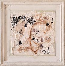 安东尼•塔皮埃斯 - 绘画 - Abstract Collage