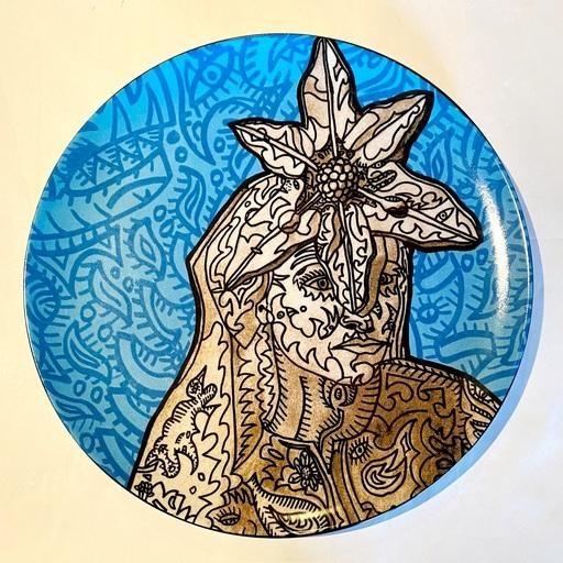 Robert COMBAS - Ceramiche - La Gitane magicienne