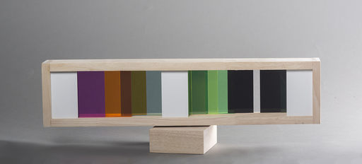 Yaacov AGAM - Scultura Volume - Infinty transparency #1