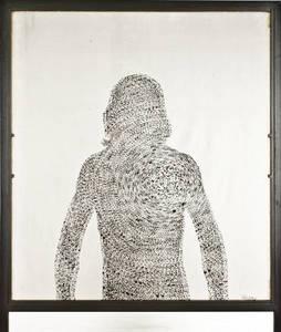 Michelangelo PISTOLETTO - Photo - Autoritratto di stelle. Rotazione dei corpi