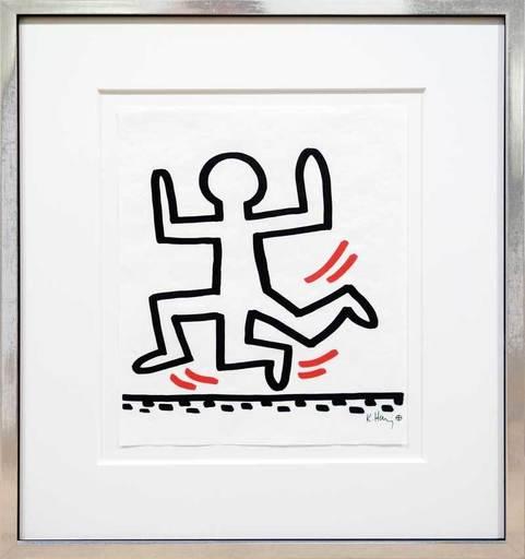 Keith HARING - Grabado - 3-Legged Runner