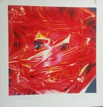 James ROSENQUIST - Print-Multiple - GIFT WRAPPED DOLL