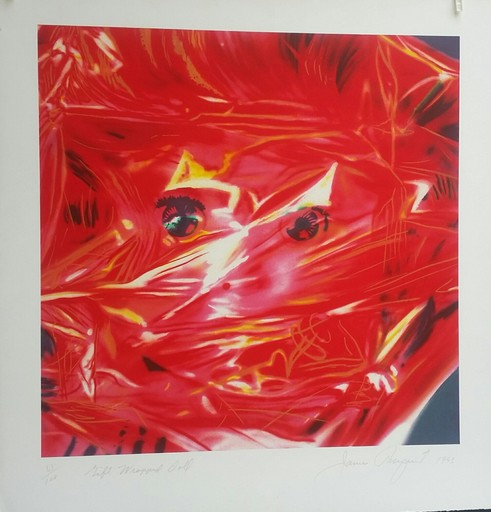 James ROSENQUIST - Print-Multiple - GIFT WRAPPED DOLL