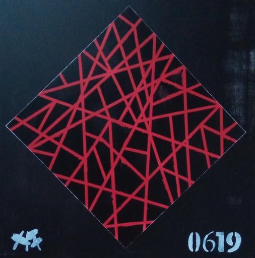 Harry BARTLETT FENNEY - Painting - red catalyst