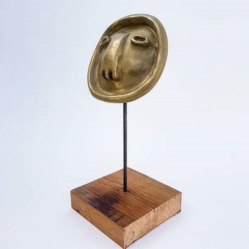 Guillaume GARRIÉ - Sculpture-Volume - MEDAILLON SPECTRE
