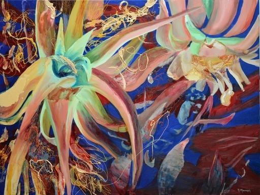 Peny MANAVI - Gemälde - Cactus 1