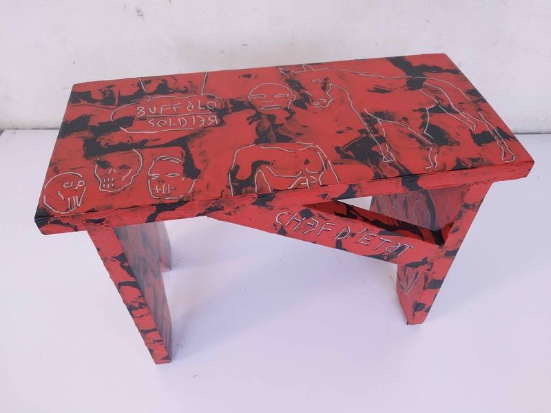 Jean-Marc HUNT - Escultura - Buffalo soldier