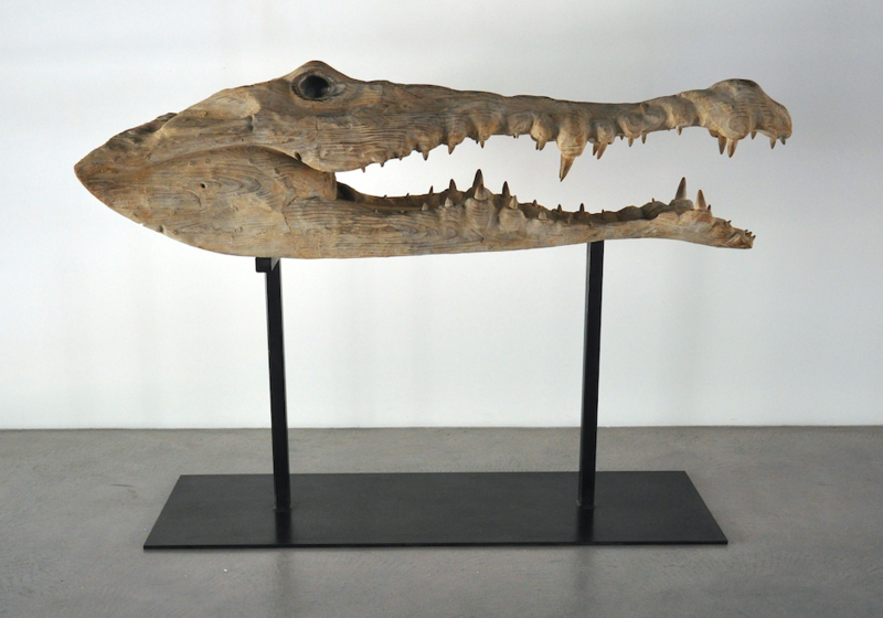 Quentin GAREL - Sculpture-Volume - crocodile