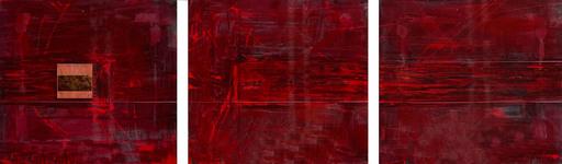 Ludmilla BACZYNSKY - Sculpture-Volume - Sans titre, Triptyque rouge
