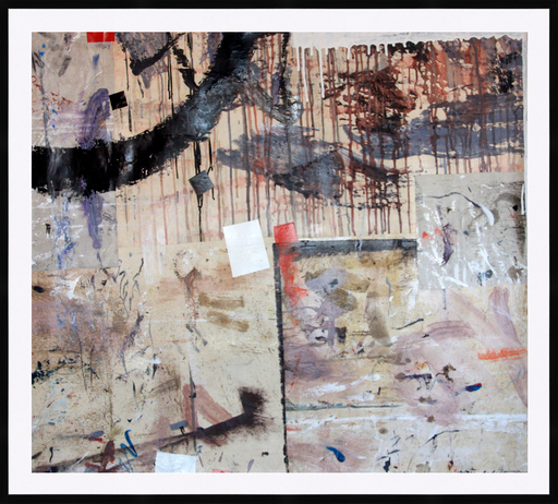Kakhaber TATISHVILI - Painting - Composition