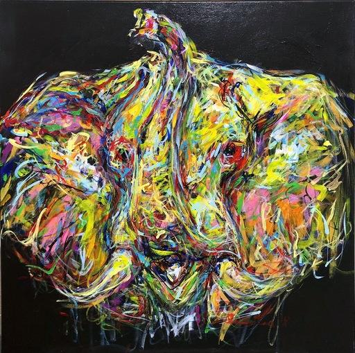 Nicole LEIDENFROST - Gemälde - Der kleine Elefant