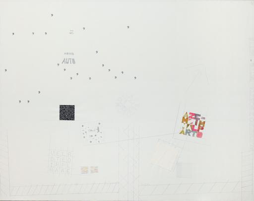 Alighiero BOETTI - Painting - A tutto tondo mettere al mondo il mondo
