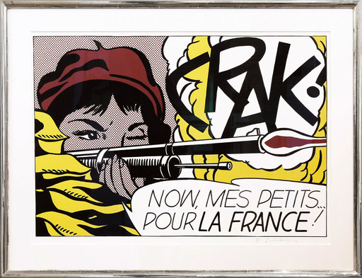 Roy LICHTENSTEIN - Print-Multiple - CRAK!