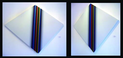 Dario PEREZ FLORES - Painting - DYNAMIQUE CHROMATIQUE N°59