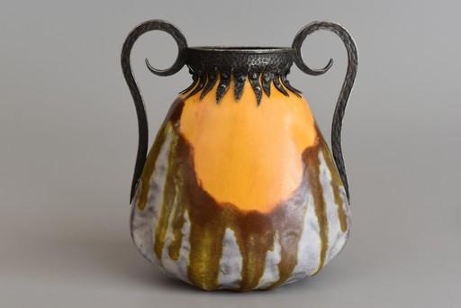 Louis-Auguste DAGE - Vase piriforme Art Déco