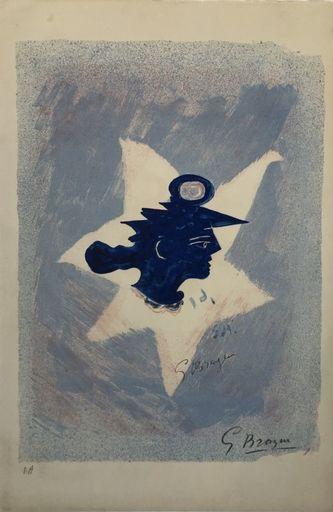Georges BRAQUE - Print-Multiple - Tête grecque