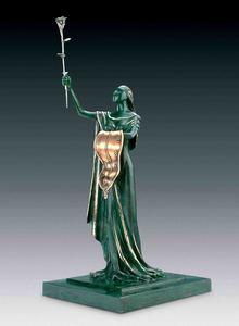 萨尔瓦多·达利 - 雕塑 - Woman of Time, Femme du temps