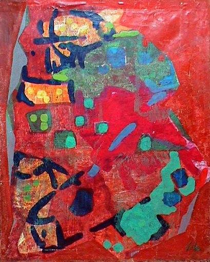 Enrico DE TOMI - Painting - senza titolo 8