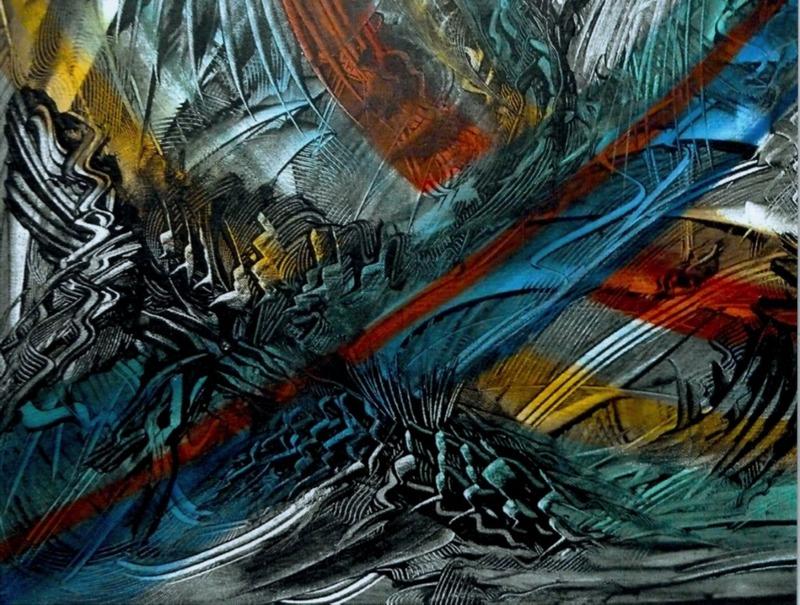 Didier ANGELS - Peinture - Les Grandes Manoeuvres