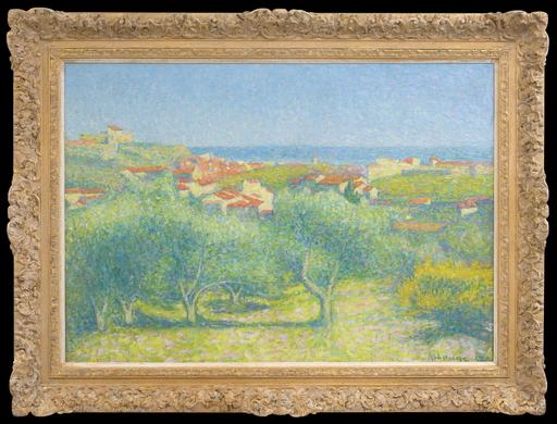 """Achille LAUGÉ - Painting -  """"Vue de Collioure"""